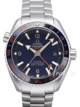 Omega Seamaster Planet Ocean 600m Co-Axial GMT 43.5mm Blå/Stål