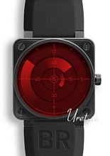 Bell & Ross Aviation R�d/Gummi 46x46 mm
