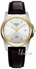 Certina DS Tradition Gent Silver/L�der �37 mm