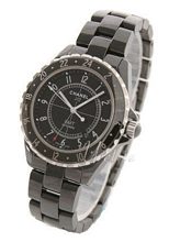 Chanel J12 GMT Ceramic Black Dial