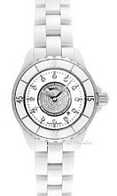 Chanel J12 Ceramic White/Diamond Dial