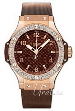 Hublot Big Bang 38 mm Brun/Gummi �38 mm