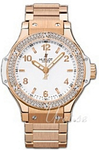Hublot Big Bang 38 mm Vit/18 karat ros�guld �38 mm