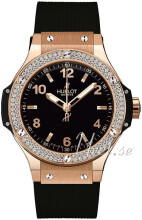 Hublot Big Bang 38 mm Svart/Gummi �38 mm