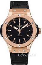 Hublot Big Bang 38 mm Automatic Svart/L�der �38 mm