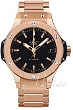 Hublot Big Bang 38 mm Automatic Svart/18 karat ros�guld �38 mm