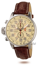 Invicta Lefty Chronograph Beige Dial