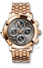 IWC Grande Complication Grey Dial Rose Gold Bracelet