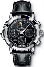 IWC Grande Complication Black Dial Platinum