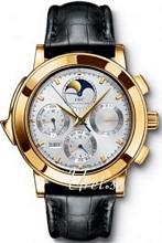 IWC Grande Complication Silver Dial Yellow Gold