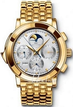 IWC Grande Complication Silver Dial Yellow Gold Bracelet