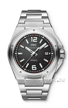 IWC Ingenieur Automatic Misson Earth Black Dial Bracelet Black D