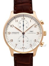 IWC Portuguese Silver Dial Leather