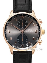 IWC Portuguese Grey Dial Leather