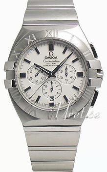 Omega Constellation Double Eagle White Dial Steel