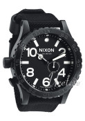 Nixon The 51-30 Tide Svart/Textil Ø51.00 mm