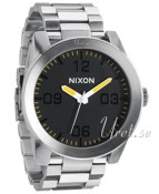 Nixon The Corporal SS Svart/Stål Ø48.00 mm