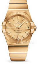 Omega Constellation Gold Dial Yellow Gold Bracelet