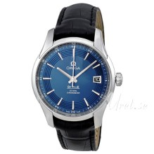 Omega De Ville Hour Vision Blue Dial Leather