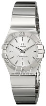 Omega Constellation Polished 24 mm Steel Silver Dial