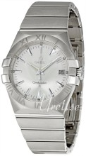 Omega Constellation Steel Silver Dial Bracelet