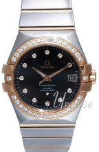 Omega Constellation Rose Gold Steel Brown Dial Bracelet