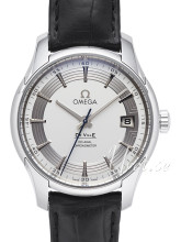 Omega De Ville Hour Vision Silver dial Leather