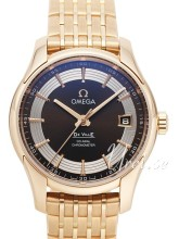 Omega De Ville Hour Vision Black Dial Rose Gold