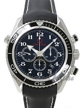 Omega Specialities Olympic Collection Black Dial Rubber