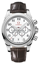 Omega De Ville White Dial Leather