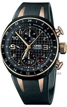 Oris Motor sport TT3 Second Time Zone Steel/Rose Gold Carbon, Bl