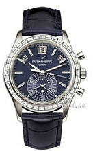 Patek Philippe Complicated Blue Dial Leather