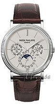 Patek Philippe Complicated Silver Dial White Gold