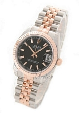 Rolex Datejust Black Dial