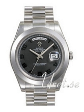 Rolex Day-Date II Platinum Black Dial