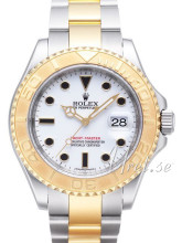 Rolex Yacht-Master White Dial Steel/Yellow Gold
