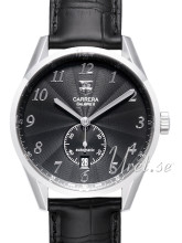 TAG Heuer Carrera Heritage Black Dial Leather
